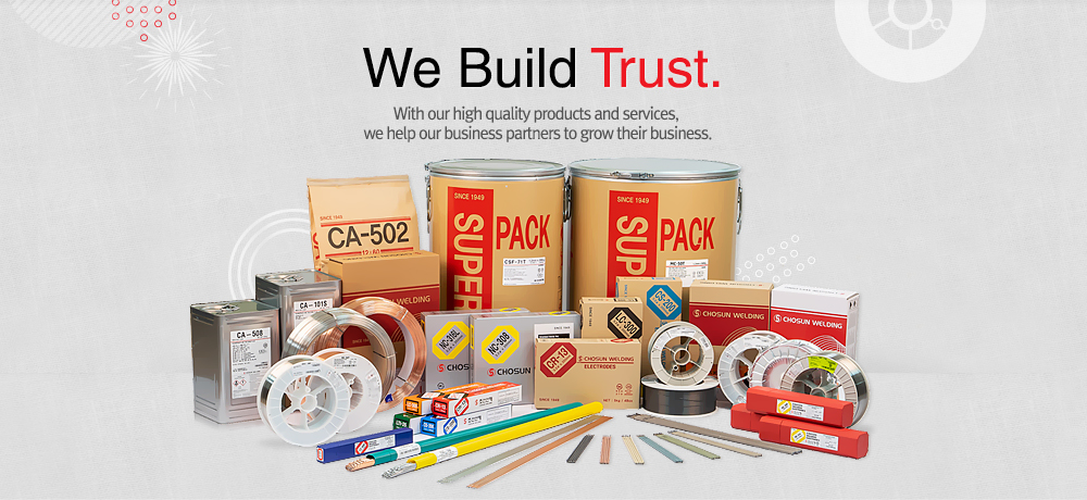 We Create Trust. With our high quality products and services you can trust, we help our business partners to grow their business.